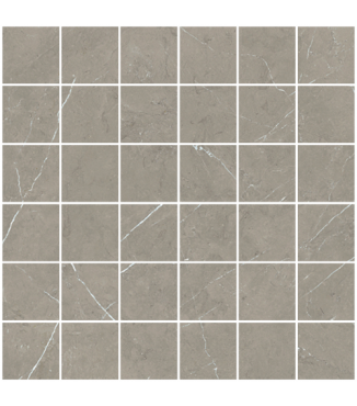 "Precious M. - Cenia Grey 2""x2"" Mosaic (Polished)"