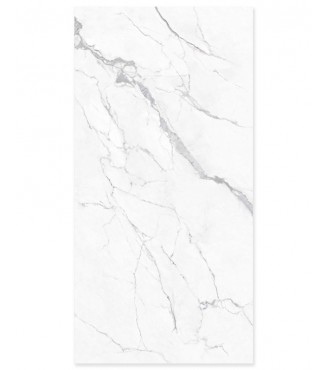 "Statuario-2 Slab Honed 126""x63"" (12mm)"
