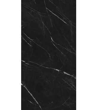 "Nero Marquina 126""x63""x 12mm Matte Slabs"