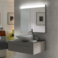 "Alice One LED Mirror - 24""x27"""