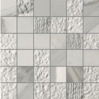 White Experience - Apuano MIX 2x2 mosaics