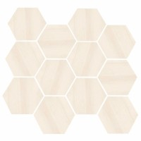 "Burlington - Beige 3.25"" Hex"