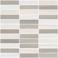 "Coastline M - 1""x4"" Blend Mosaic (matte/polished)"