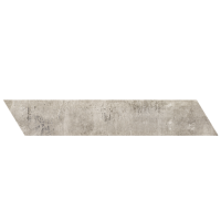 "concrete - Argento 4""x24"" Chevron Right (Matte)"