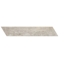 "Concrete - Ash Grey 4""x24"" Chevron Right (Matte)"