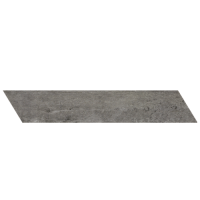 "concrete - Gun Powder 4""x24"" Chevron Right (Matte)"