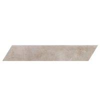 "Concrete - White Cloud 4""x24"" Chevron Left (Matte)"