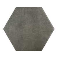 Landscape - 11″ Hexagon Dark Gray