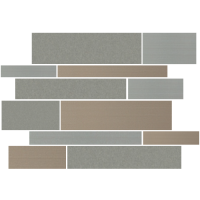 "Modern Gray 12""x18"" Stripe Deco"
