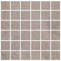 Horizon - Grigio 2x2 Mosaic Semi-Polished