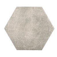 Landscape - 11″ Hexagon Light Gray