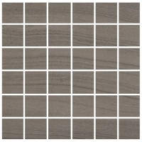 "Marne - Base Tortora 2""x2"" Mosaic on 12""x12"" Mesh Sheet Semi-Polished"