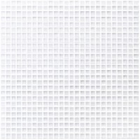 "Micron - Ice White 3/8"" Mosaic on 12x12 Sheets"