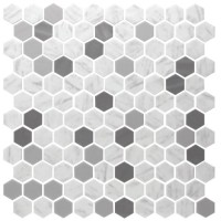 Onix Hex - Blend Metal Carrara