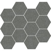 "Fabrique 2.0 - Silk 3.25"" Hex Mosaic"