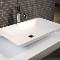 Cora Wash Vessel - Gloss White