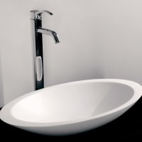 Lana Wash Vessel - Gloss White