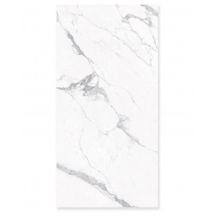 "Statuario 126""x63""x6mm Honed Slabs"