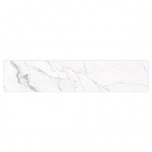 "Statuario Prefab Countertop 120""x25.5""x1.5"" (Honed) (12mm)"
