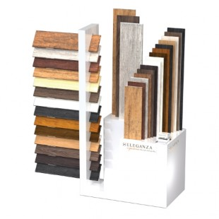 Porcelain Wood Display