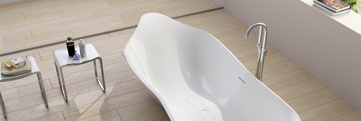Brezza Frees Standing Tub
